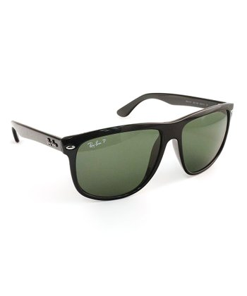 Black Nylon Polarized Sunglasses