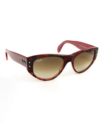 Top Red Vagabond Sunglasses