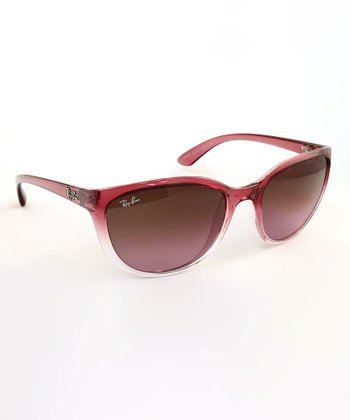 Red Gradient Emma Sunglasses