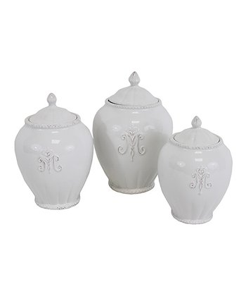 Katherine Canisters - Set of Three