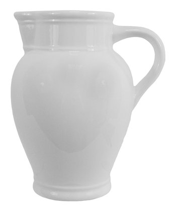 White Mirasol Curved Pitcher