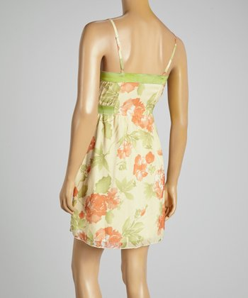 Young Essence Pink Floral Dress