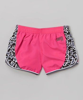 Pink Glo Make Some Noise Shorts - Girls