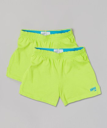 Sweet Green Soffe Shorts Set - Girls