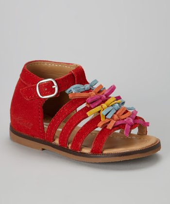MOD8 Red Anoa Leather Sandal