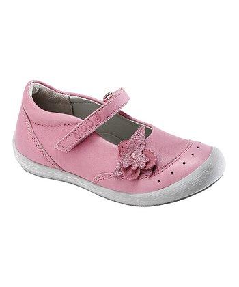 MOD8 Pink Fiona Leather Mary Jane