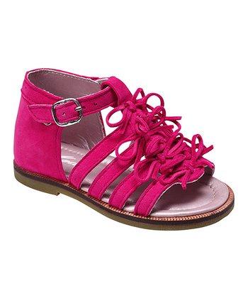 MOD8 Fuchsia Anoa Leather Sandal