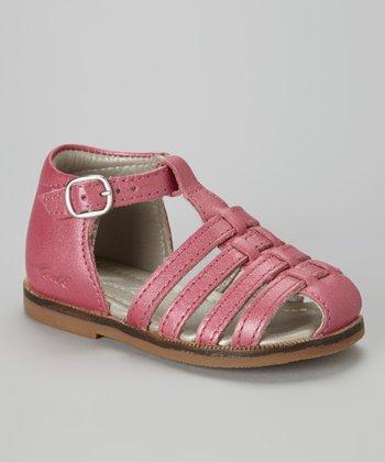 MOD8 Fuchsia Arcade Leather Closed-Toe Sandal