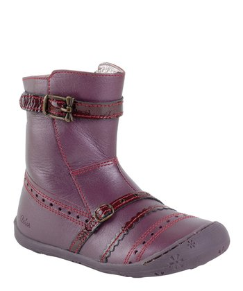 Aster Lilac Juicy Leather Boot
