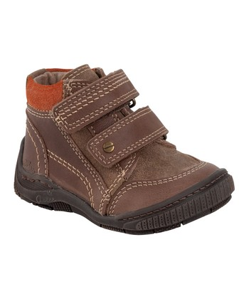 Aster Brown Hamigo Leather Ankle Boot