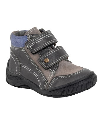 Aster Gray Hamigo Leather Ankle Boot