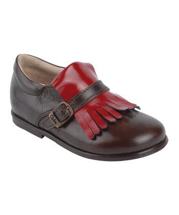 Aster Brown Darlene Leather Loafer