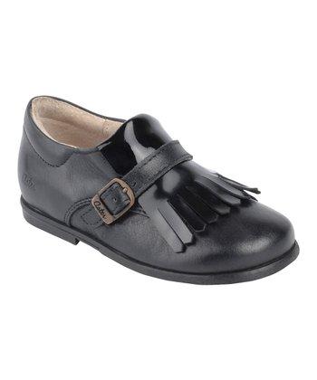 Aster Black Darlene Leather Loafer