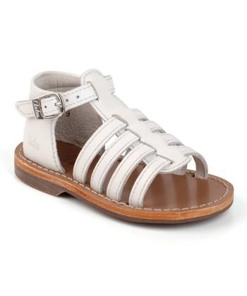 Aster White Vision Leather Sandal