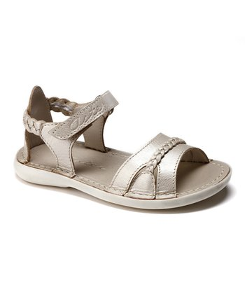 Aster Pink Precieuse Leather Sandal