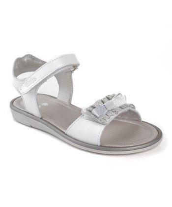 Aster White Jojobi Leather Sandal