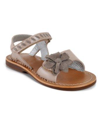 Aster Beige Vitesse Leather Sandal