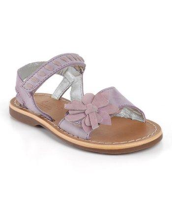 Aster Lilac Vitesse Leather Sandal