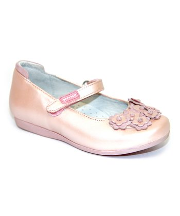 garvalin Rose Floral Leather Mary Jane