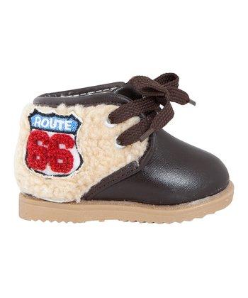 Mini Monkey Brown 'Route 66' Boot
