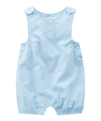 Blue Floral Romper - Infant