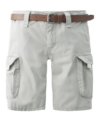 Light Khaki Cargo Shorts - Infant, Toddler & Boys