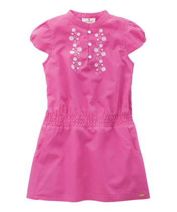 Medium Pink Flower Dress - Infant, Toddler & Girls