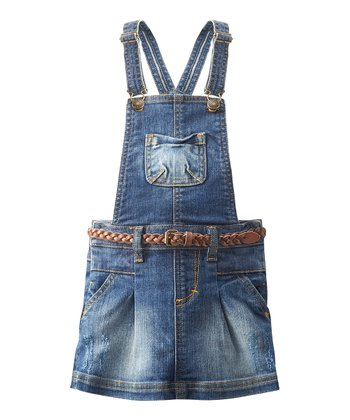 Medium Wash Denim Jumper - Infant, Toddler & Girls
