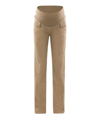 Sand Lova Mid-Belly Maternity Pants