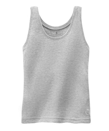 Gray Mélange Ribbed Tank - Infant, Toddler & Boys