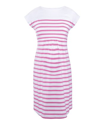 Candy Dajana Stripe Maternity Dress