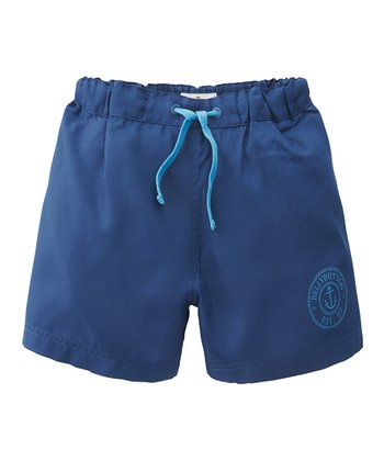 Navy Swim Trunks - Infant, Toddler & Boys