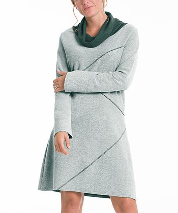 lur® Moss Reversible Sweater Dress - Women & Plus