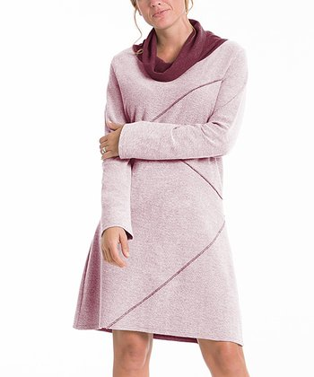 lur® Merlot Reversible Sweater Dress - Women & Plus