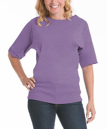 lur® Lilac Boatneck Top - Women & Plus