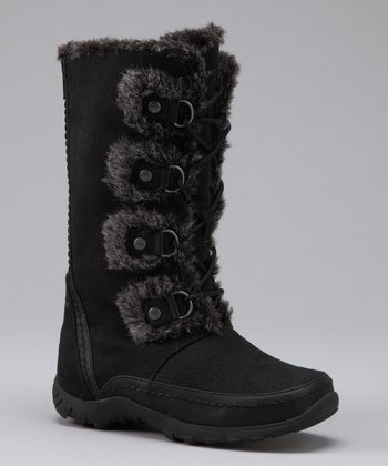 Black Daffodil Boot