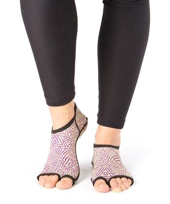 Grape Tribal Gripper Socks - Women & Men