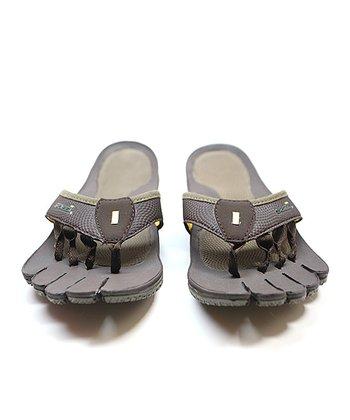 Brown & Chocolate Decimal Recovery Sandal - Women