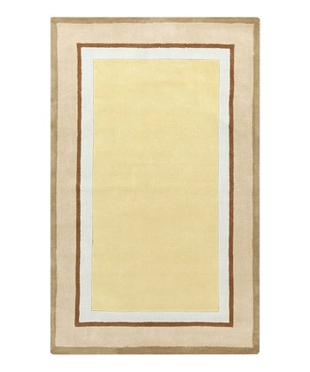 Yellow Young Life Rug