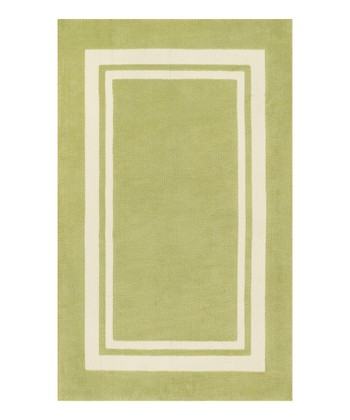 Green Piper Rug