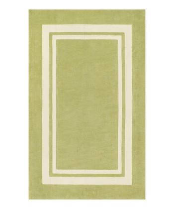 Green Piper Rug