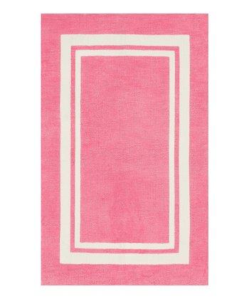 Bubblegum Pink Piper Rug