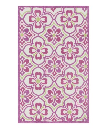 Purple & Green Zoey Rug