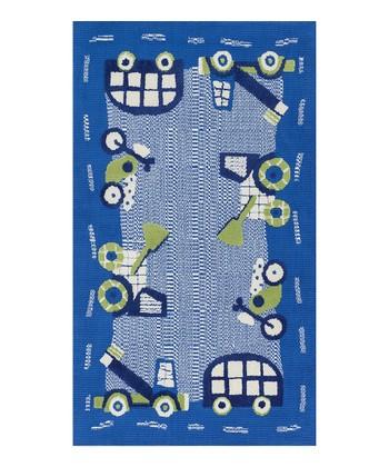 Blue Zoey Rug