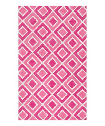 Pink Diamonds Zoey Rug