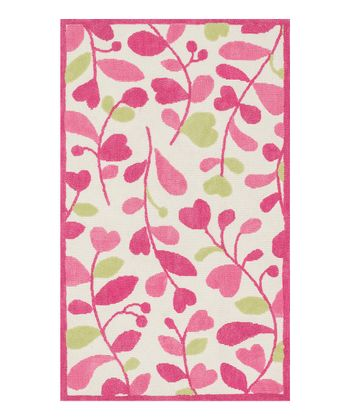Pink & Green Zoey Rug