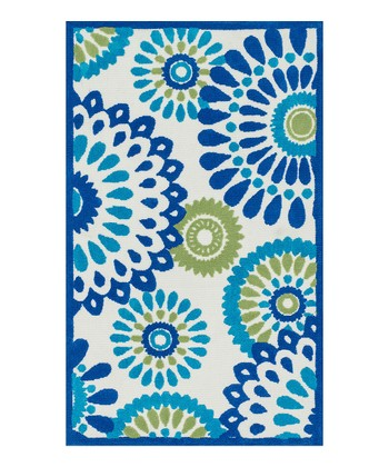 Blue & Green Zoey Rug