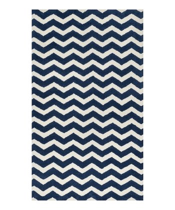 Navy Wave Zoey Rug