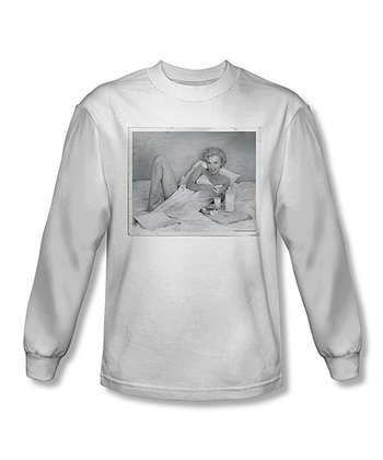 Marilyn Monroe Breakfast Long-Sleeve Tee - Adult