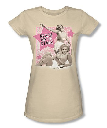 Marilyn Monroe 'Reach For The Stars' Tee - Junior